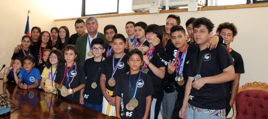 Municipio de Vicuña apoyará a taekwondistas que competirán en los próximos nacionales