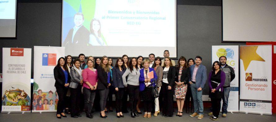 Universidad INACAP y Red EG organizan primer conversatorio regional sobre equidad de género