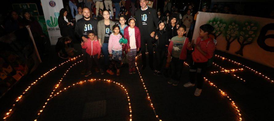 Con apagado de luces, la Región de Coquimbo se sumó a la Hora del Planeta