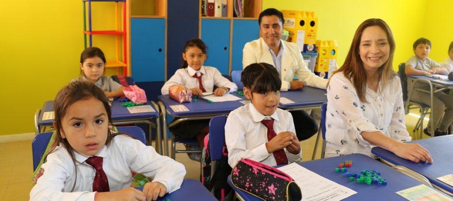 Remozada escuela de Pisco Elqui potencia la educación en la comuna de Paihuano