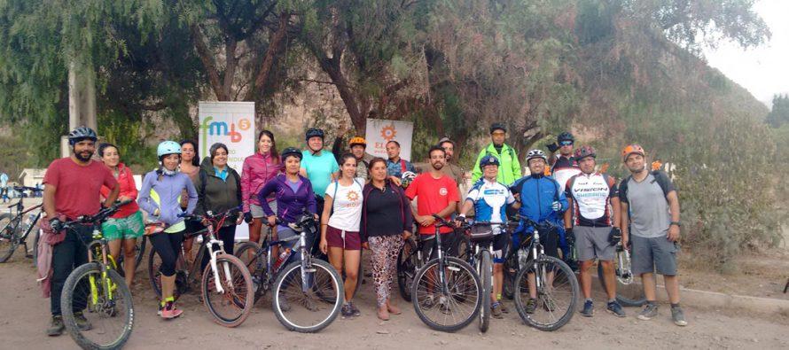 """Invitan a participar  del evento """"Yo Vivo Elqui Pedaleable"""" este fin de Semana Santa en El Molle"""