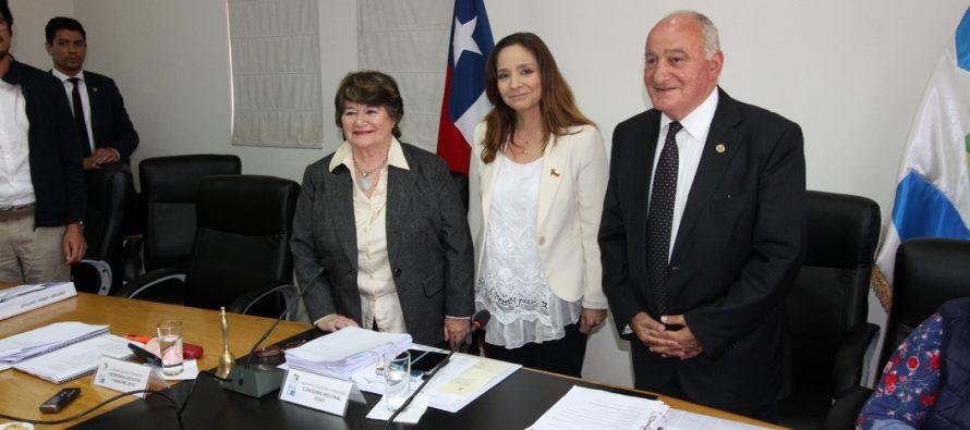 Adriana Peñafiel (RN) se convierte en la nueva presidenta del Consejo Regional de Coquimbo
