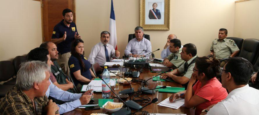 Vicuña vivió su 2da Mesa de Seguridad con diversas instituciones
