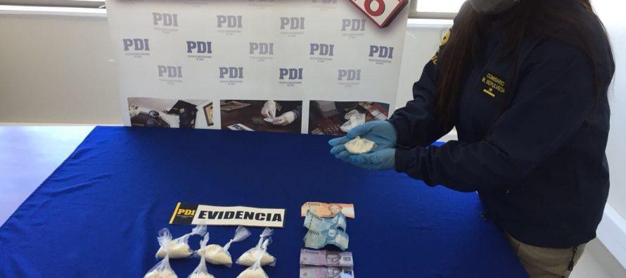 PDI detiene  a dos personas por microtráfico