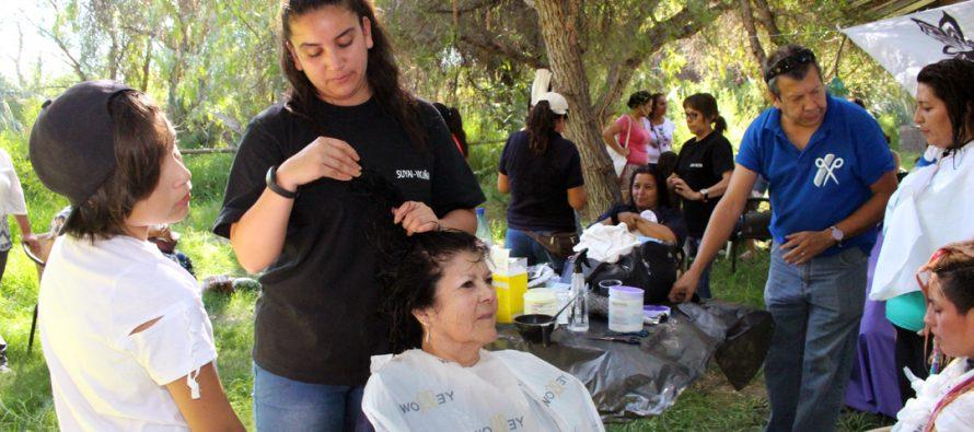 Mujeres de Vicuña celebraron su día con diversas actividades en Parque Los Pimientos