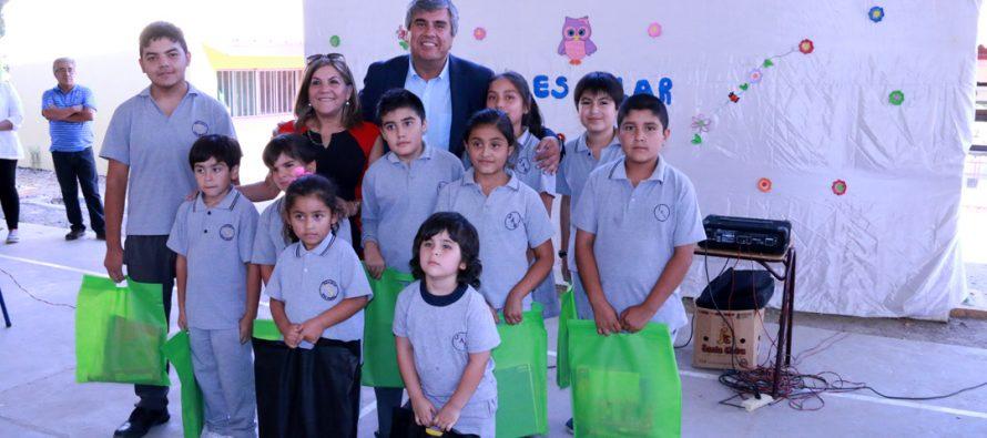 Directores asumen nuevo periodo en las escuelas de El Tambo, Peralillo y San Isidro
