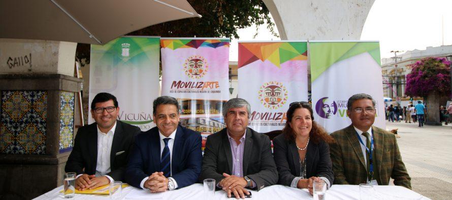 Autoridades dan el vamos a proyecto que acercará la cultura y las artes a los territorios