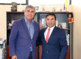 Alcalde de Vicuña se reúne  con diputado Pedro Velásquez  para analizar desarrollo de la zona