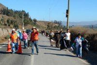 Vecinos de Quilacán colaboran con la limpieza de la comuna