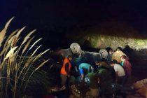 Pareja argentina resulta herida luego de volcar en las cercanías de Juntas del Toro