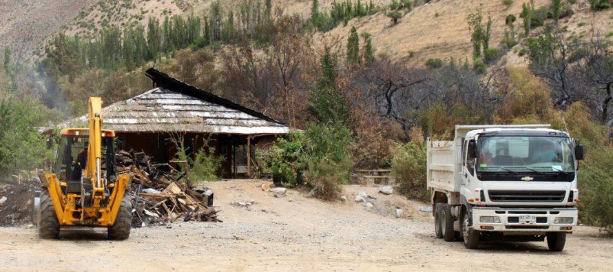 CORE aprueba recursos para la reposición del Pueblo Artesanal de Horcón destruido por incendio el 2017