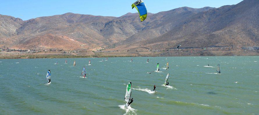 Embalse Puclaro será escenario de una Regatta de Windsurf este 31 de marzo