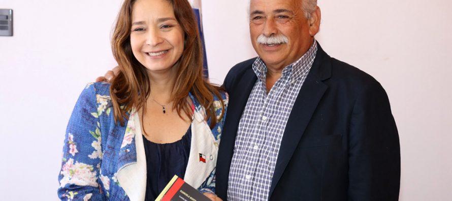Consejo Regional en pleno y municipios entre los saludos protocolares a la Intendenta Lucía Pinto