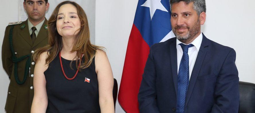 Intendenta Lucía Pinto hace llamado a la unidad tras asumir como máxima autoridad regional