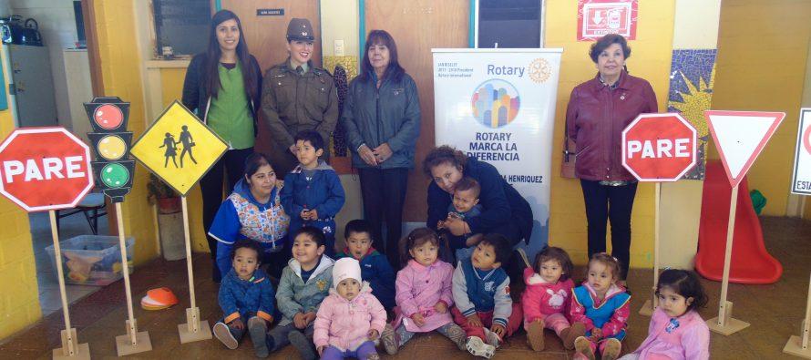 """Implementan programa de """"Seguridad Vial"""" para estudiantes de la comuna de Vicuña"""