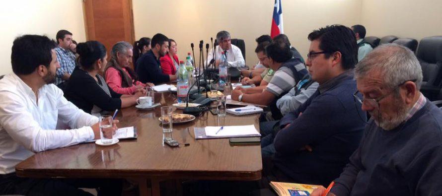A fin de seguir la coordinación comunal realizan  III Consejo de Seguridad Pública en Vicuña