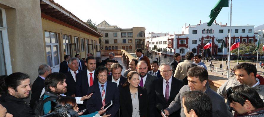 """Intendenta Lucía Pinto: """"Túnel Agua Negra es un proyecto de Estado y tenemos la voluntad política para llevarlo adelante"""""""