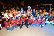Adultos mayores Mexicanos llegaron a dar una muestra artística a la comuna de Vicuña
