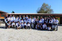 Entregan nuevos instrumentos a la Banda de Guerra del Colegio Rural de la Quebrada de Talca