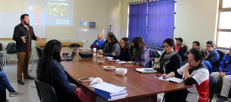 Funcionarios de salud se capacitan sobre notificación de intoxicaciones por plaguicidas en Paihuano