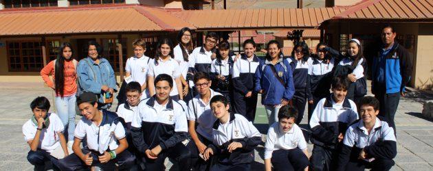 Estudiantes de Colegio Serena se interiorizan sobre vida y obra de Gabriela Mistral en Montegrande