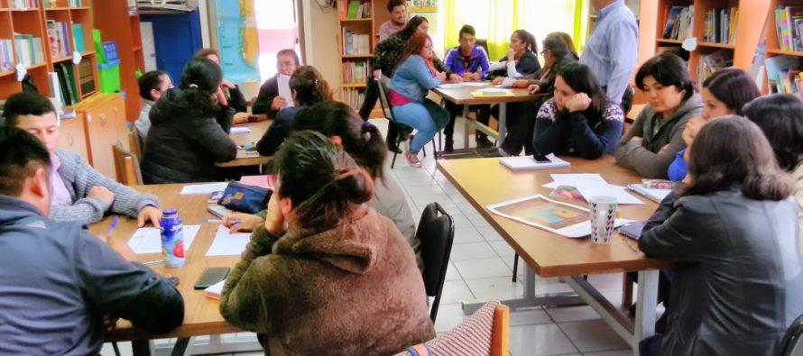 Realizan jornada de Re-sensibilización  en escuela Juan Rendic de Talcuna