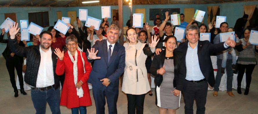 Familias de la localidad de Lourdes concretarán el sueño de la casa propia