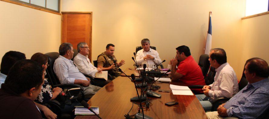 Transportistas, municipios y Carabineros comprometen trabajo mancomunado