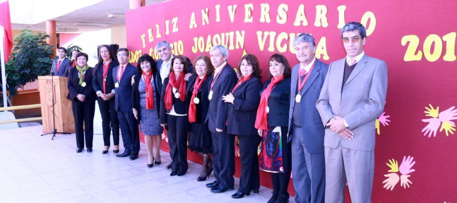 En emotiva ceremonia colegio Joaquín Vicuña Larraín celebró su décimo quinto aniversario