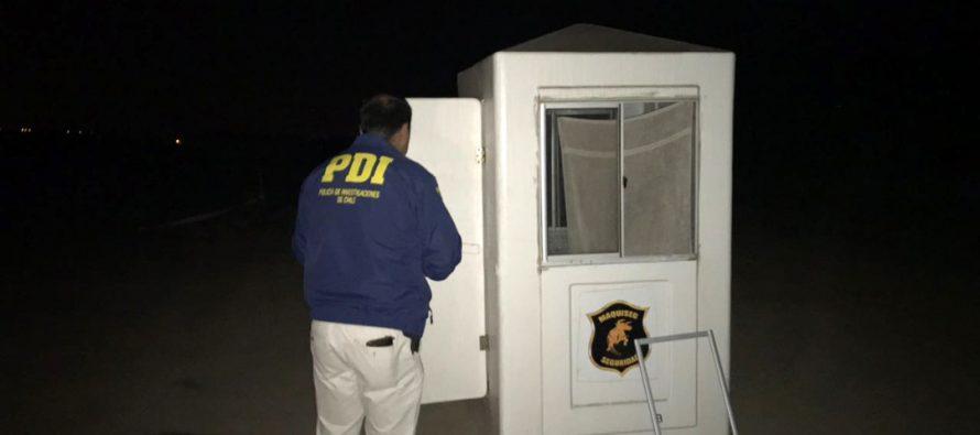 PDI investiga robo con  intimidación a guardia en parcela del sector Algarrobito