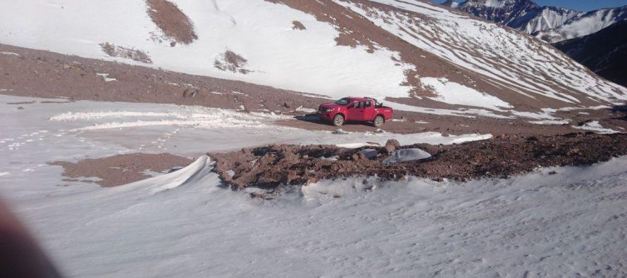 Disponen cierre de la temporada del Paso Agua Negra debido al hielo en la ruta