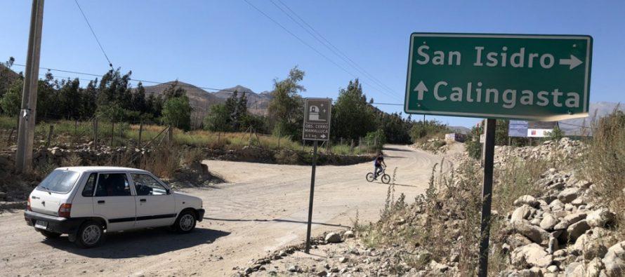San Isidro y Calingasta tendrán su acceso pavimentado este 2018