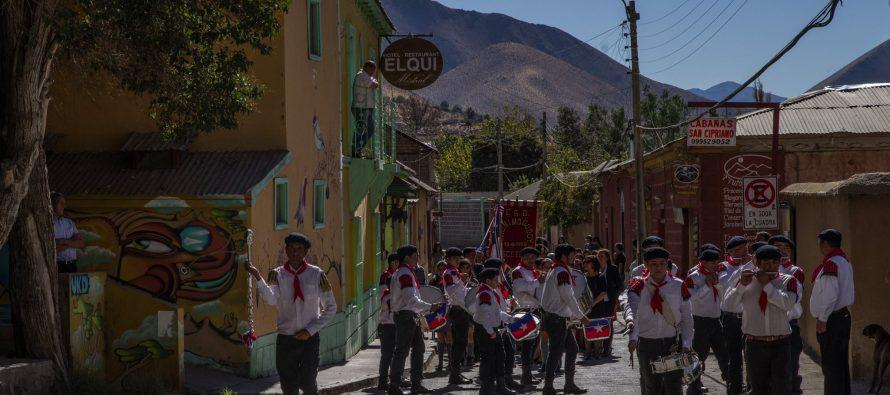 Paihuano rindió homenaje a las Glorias Navales con actos y desfiles a lo largo de la comuna