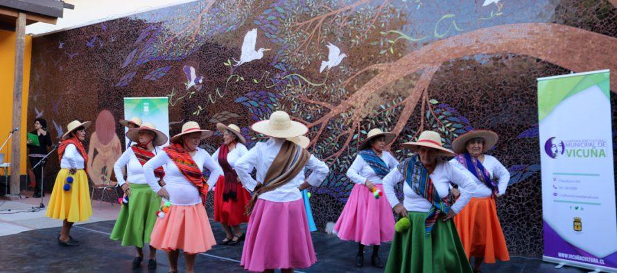 En Vicuña se celebró el Día del Patrimonio con una mateada y  diversas expresiones artísticas