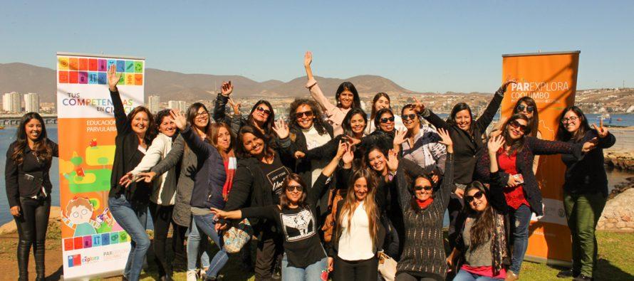 Educadores de Vicuña, Paihuano y La Serena se capacitaron en innovadora iniciativa para enseñar ciencias en la sala de clases