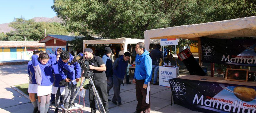 """Con el llamado a """"ser curiosos"""" escuela de Rivadavia desarrollo III Congreso de Ciencias"""
