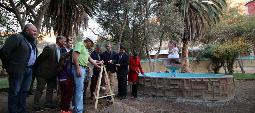 Inician obras para restaurar histórica plaza de la localidad de Diaguitas