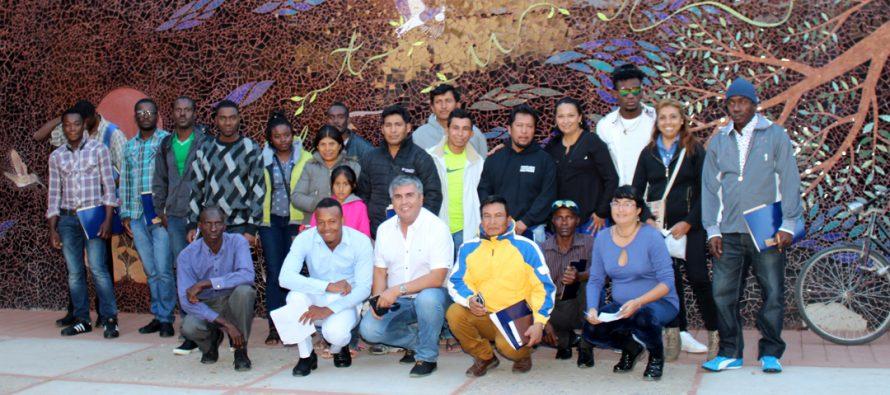 En Vicuña se vivió el primer encuentro de los pueblos extranjeros en la comuna