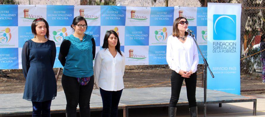 Servicio País realizó el hito de lanzamiento de su campaña 2018 en Vicuña