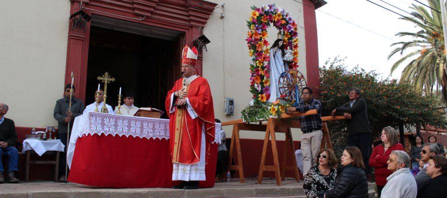 Con la presencia de Monseñor Rene Rebolledo se celebró la fiesta patronal de San Isidro