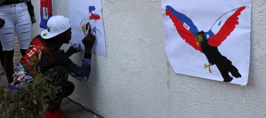 Con presentaciones artísticas y comida típica la comunidad haitiana celebró su día en Vicuña