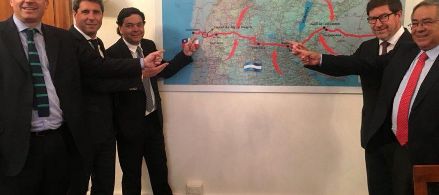 Diputados junto a CIDERE se reúnen con Gobernador de San Juan para respaldar concreción de Túnel de Agua Negra