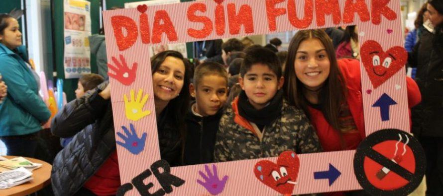Conmemorarán el Día Mundial Sin Fumar en plaza Gabriela Mistral