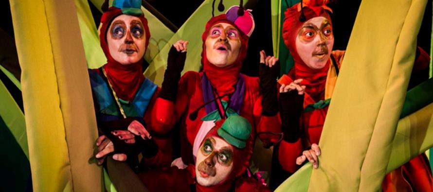 """Obra familiar """"Las Hormigas"""" se presenta en el Teatro Municipal de Vicuña"""