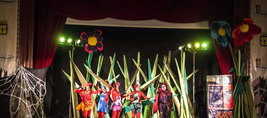 """Familias elquinas disfrutaron del teatro con obra """"Las Hormigas"""""""