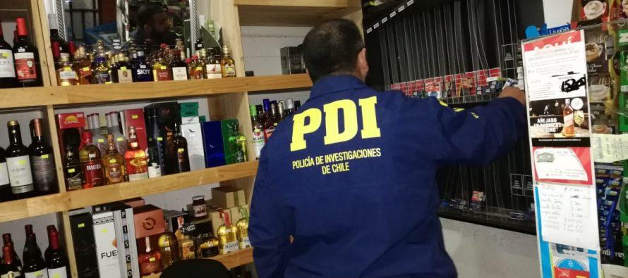 PDI investigará robo a botilleria en Algarrobito