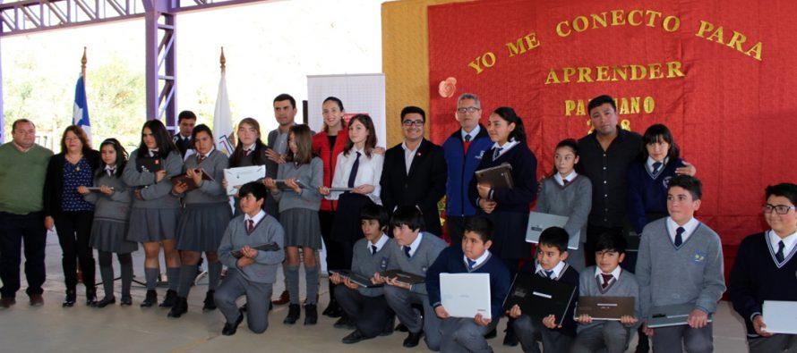 Estudiantes de Paihuano tienen las mismas oportunidades para reforzar aprendizajes con Me Conecto para Aprender