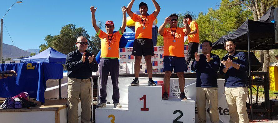 Más de mil personas participaron de la 5ta versión de la corrida PDI de Vicuña en su mes aniversario