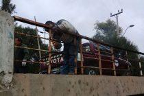 Realizan arreglo a puente de El Tambo y hacen el llamado a mantenerlo en buenas condiciones