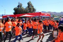 PDI realizó exitosa 5° corrida en Vicuña por mes aniversario de la institución